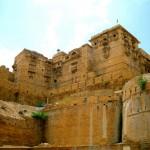 Festungsmauern des Jaisalmer Fort