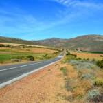 Menschenleere Route 62