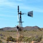 Verlassene Landschaften der Klein Karoo