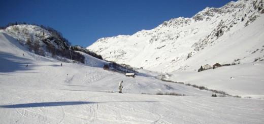Skigebiet Silvretta Galtür in Tirol