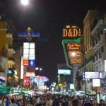 Khao San Road by night