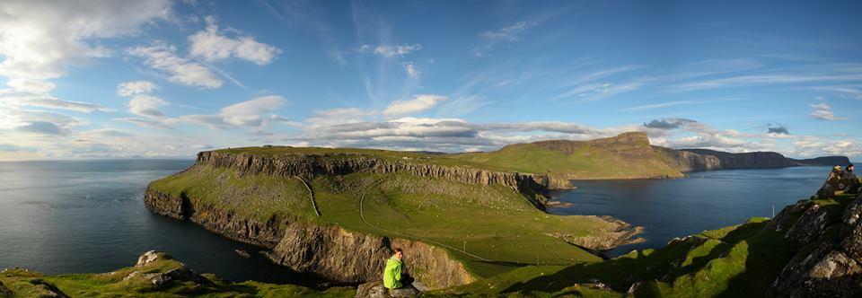 Panorama Isle of Skye