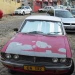 Alte Karossen auf den Straßen von Bo-Kaap