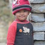 Kleiner Junge in Ghandruk Nepal, Annapurna Region