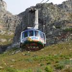 360° Panorama: Seilbahn auf das Tafelberg Plateau