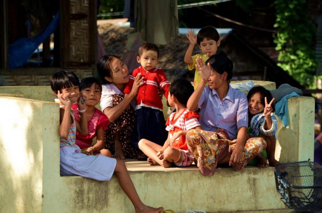 Land des Lächelns - die Menschen in Myanmar