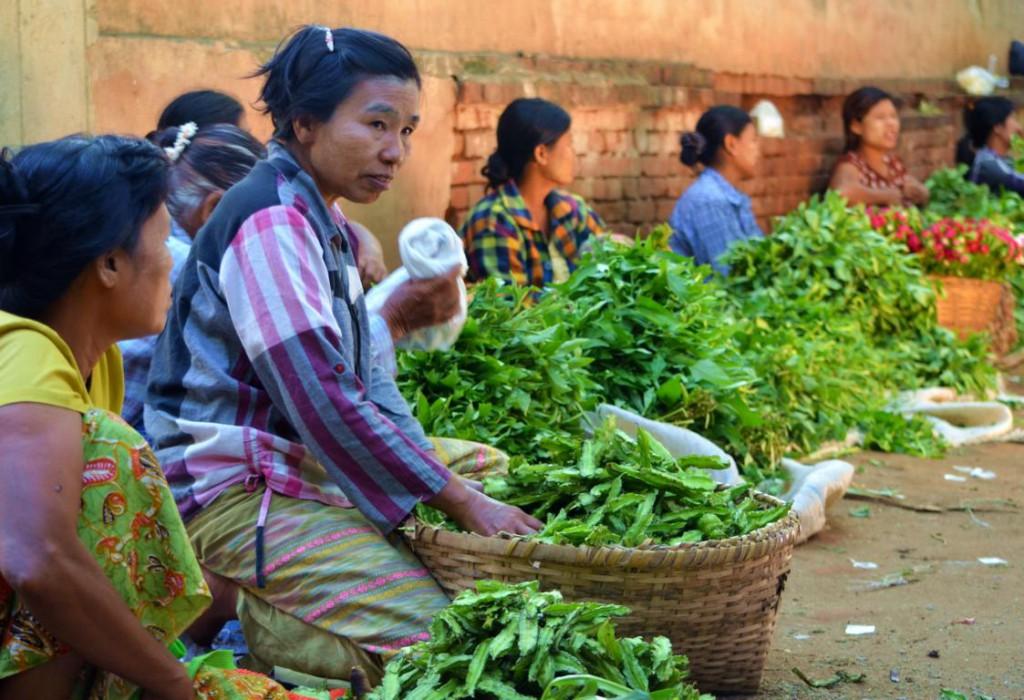 Ursprünglichkeit - täglich pulsiert das Leben auf den Märkten Myanmars