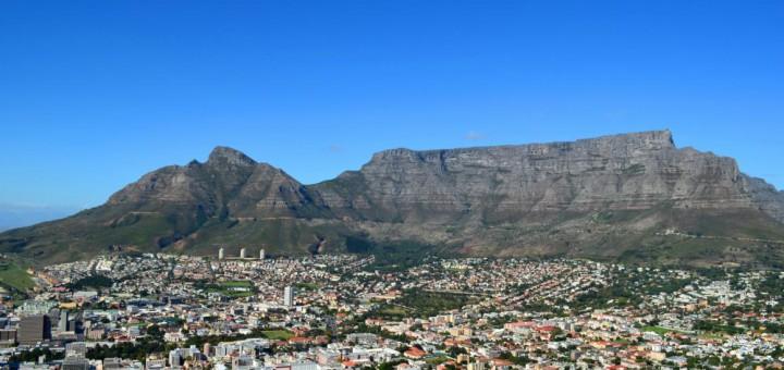 Das Wahrzeichen Kapstadts: Der Tafelberg