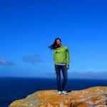 Auf der Aussichtsplattform am Kap der guten Hoffnung