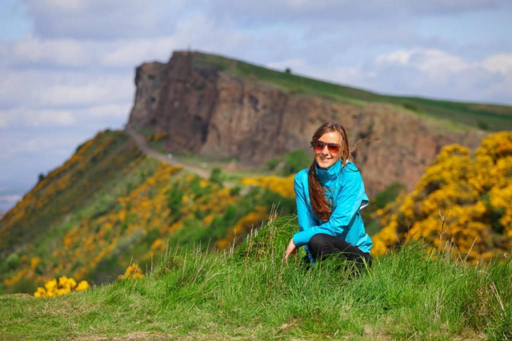 Arthurs Seat in Edinburgh Schottland