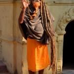 Yogi in Pashupatinath Kathmandu