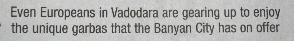Die Schlagzeile vom 30.11.2011.