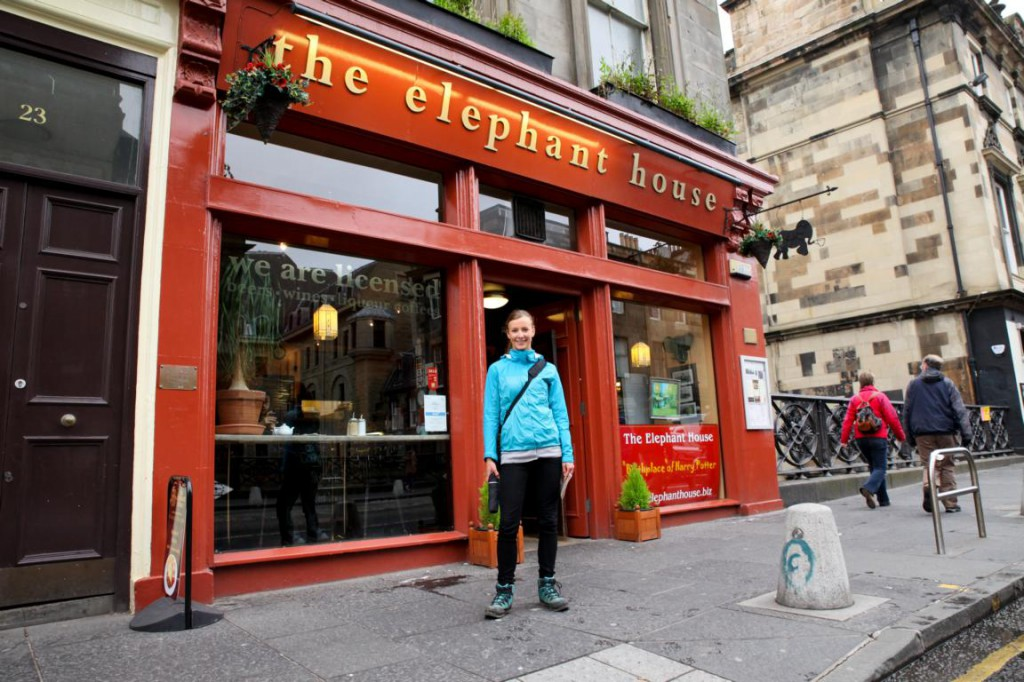 The Elephant House - entstand hier der erste Harry Potter Roman?