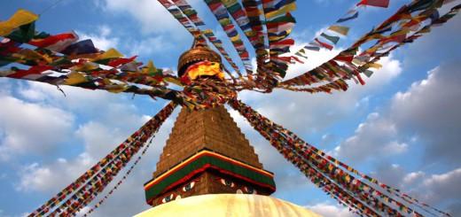 Gigantisch, spirituell, magisch - die Boudhanath Stupa in Kathmandu