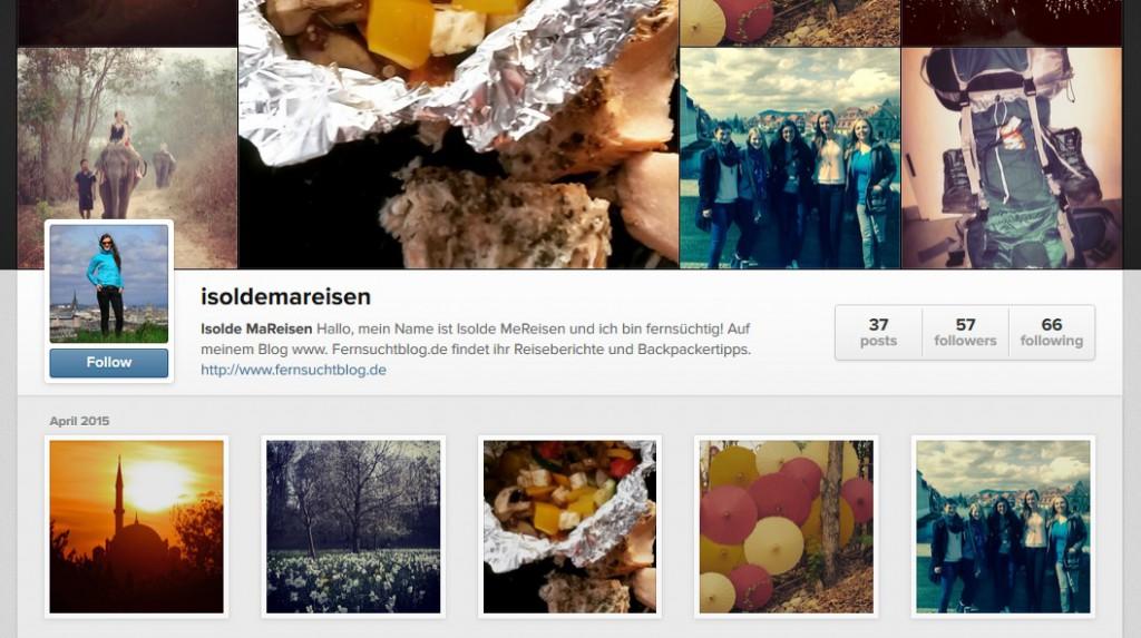 Isolde MaReisen auf Instagram