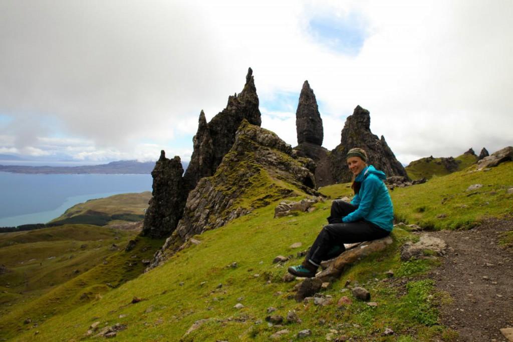 """Die imposanten Felsnadeln """"Old Man of Storr"""" sind das Wahrzeichen der Isle of Skye."""