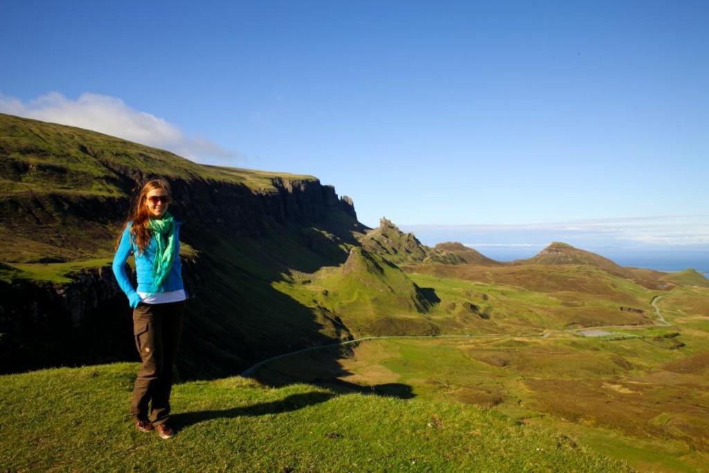 Geformt durch einen Erdrutsch: Das Quiraing auf der Isle of Skye.