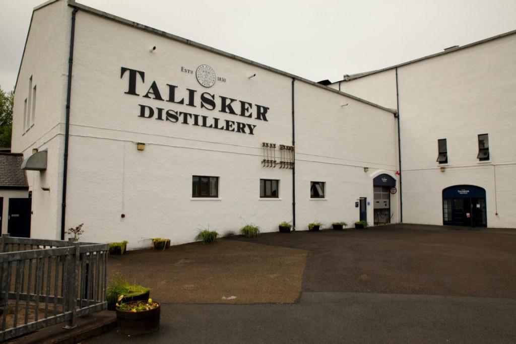 Torfig im Abgang: Auf der Isle of Skye wird der Talikser hergestellt.