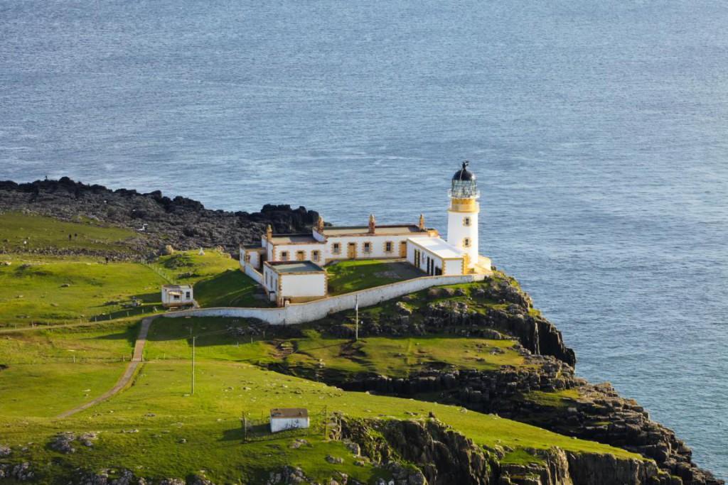 Der Neist Point Leuchtturm ist einer der beliebtesten Fotomotive der Isle of Skye.