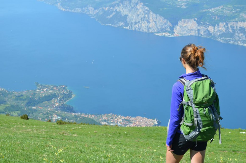 Wandern hoch über dem Gardasee: Atemberaubendes Panorama!
