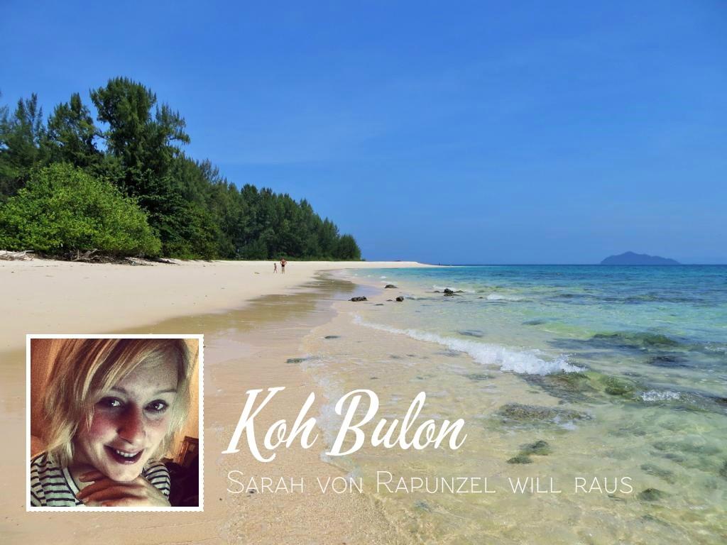 Lieblingsplätze in Thailand? Koh Bulon!  © www.rapunzel-will-raus.ch