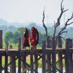 U-Bein Brücke in Amarapura: Ein magischer Ort.