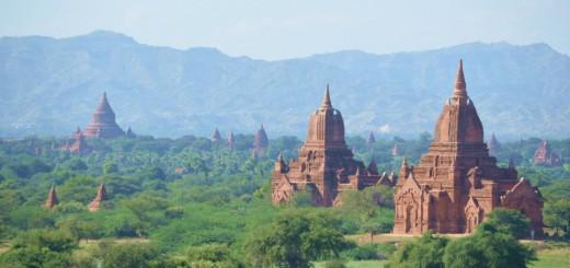 Bagan - Mehr als 4.000 Pagoden auf einen Blick!