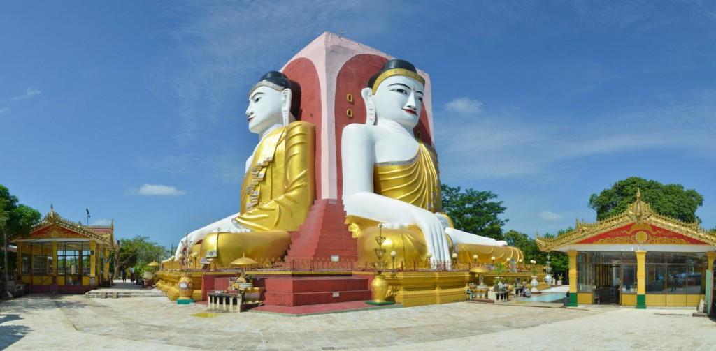 Die vier sitzenden Buddha von Bago: Faszinierende Baukaunst fernab der touristischen Pfade.
