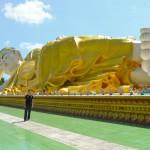 Liegender Buddha in Bago