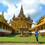 Palastanlage in Bago: Mehr Gold geht nicht