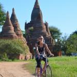 Mit dem Rad durch Bagan