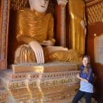 Buddhas über Buddhas in der Thanboddhay Pagode in Monywa