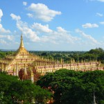 Ganz anders als die anderen Pagoden in Myanmar: Die Thanboddhay Pagode in Monywa