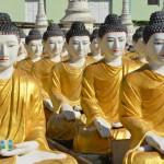 Ein Feld voller Buddhas: Aufstieg zum stehend Buddha von Monywa