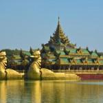 Kandawgyi See in Yangon