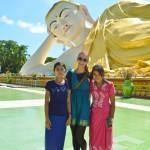 Mehr Pilger als Touristen: Bago