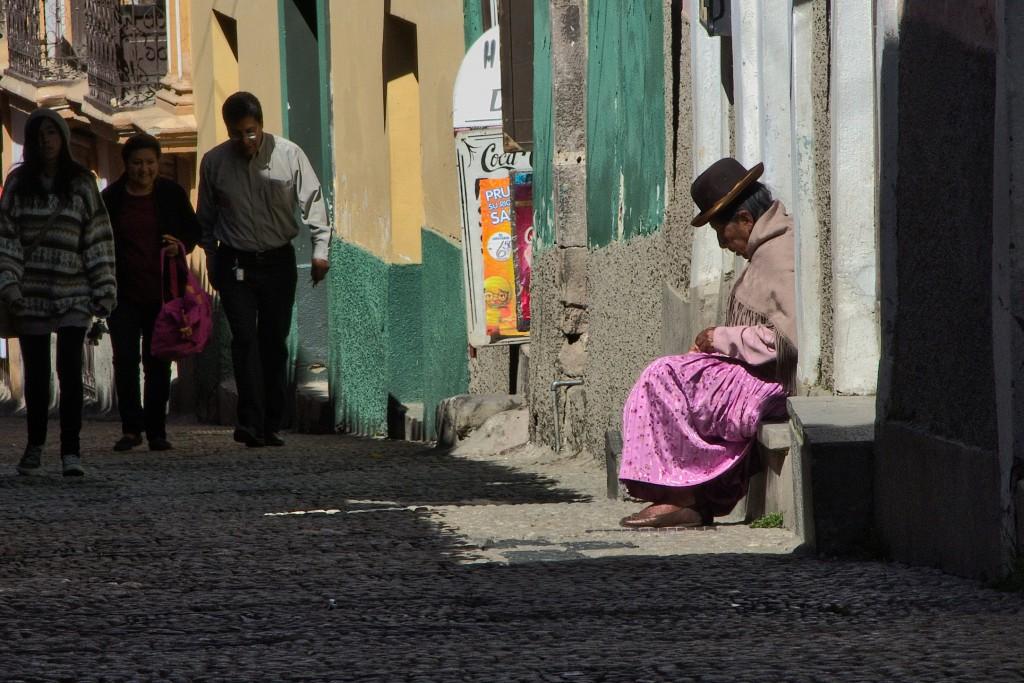 Lasst es in Bolivien langsam angehen! © Kerstin & Constantin - 2malweg.de