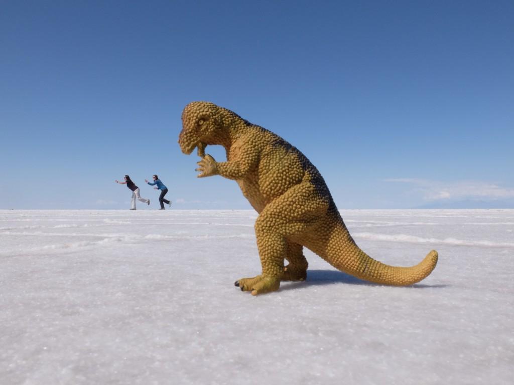 In Bolivien werdet ihr mit der ein oder anderen absurden Situation konfrontiert werden! © Simone - just-travelling.de