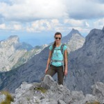 Gipfelstürmer auf dem Steinfalk: Zwei Gipfel an einem Tag auf der Hüttenwanderung Karwendel.