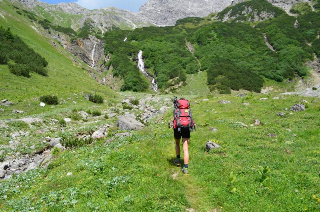 Malerische Täler voller Wildblumen und Wasserfälle - eine Idylle in den Alpen!