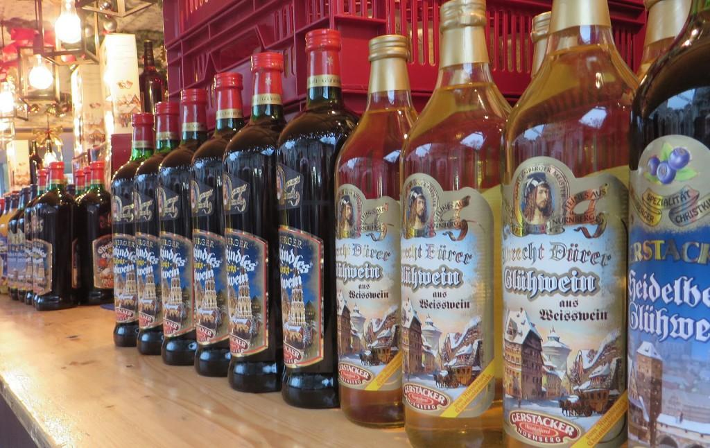 In Nürnberg gib tes Glühwein und Feuerzangenbowle für jeden Geschmack.