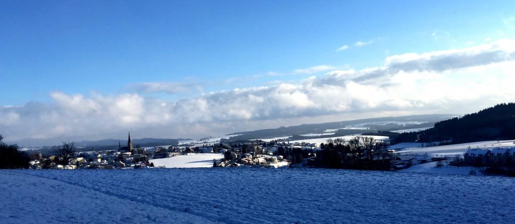 Winterlandschaft rund um Bad Leonfelden in Oberösterreich