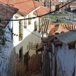 Steil sind die Straßen in San Blas