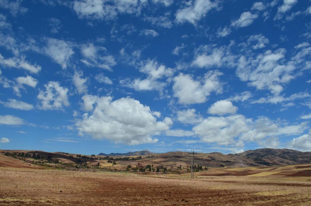 Unendliche Weiten im Heiligen Tal von Peru.