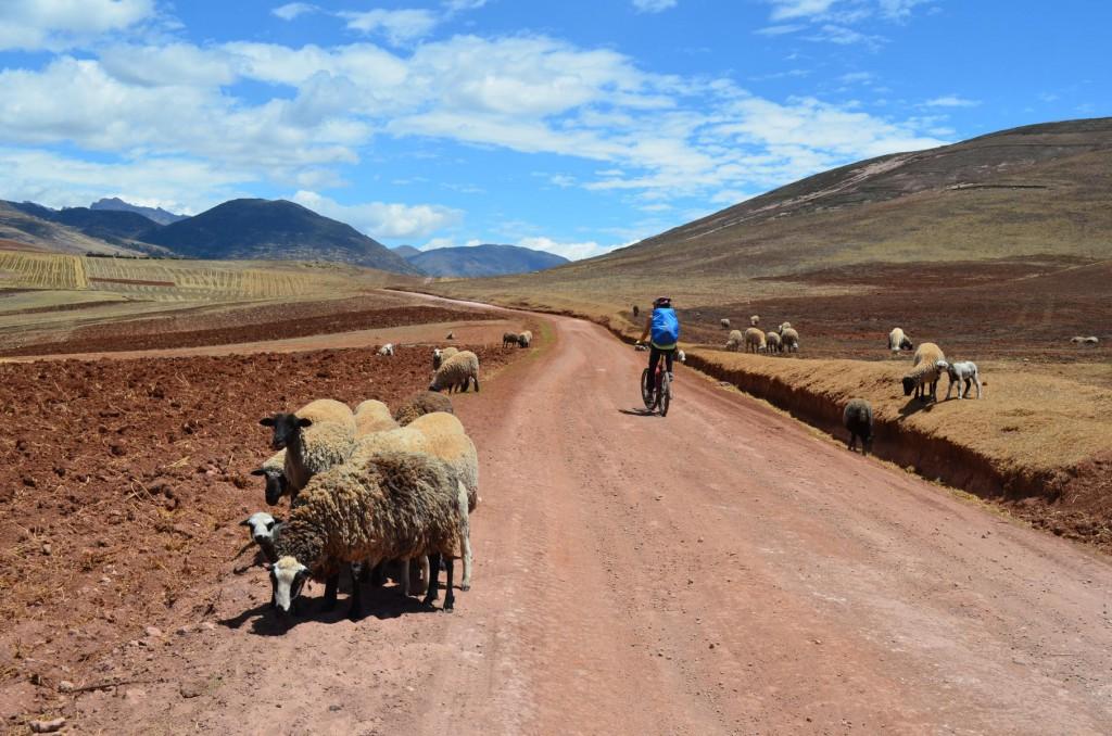 Mountainbike Tour im Heiligen Tal: Auf geht's nach Moray!