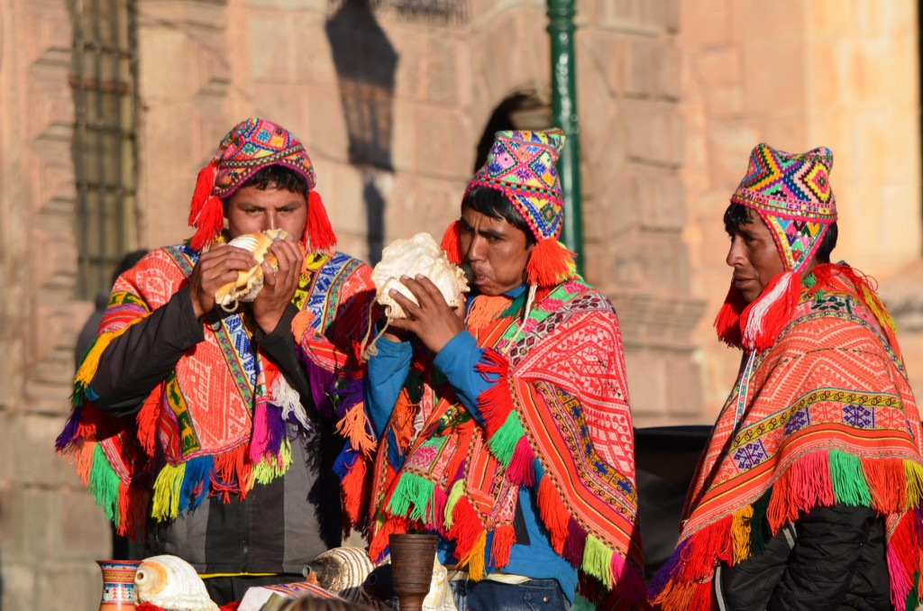 Freundlich und direkt: Die Menschen in Cusco.