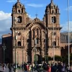 Prachtbauten am Plaza de Armas in Cusco.