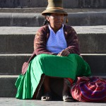 Plaza de Armas: Sitzen und Verweilen.