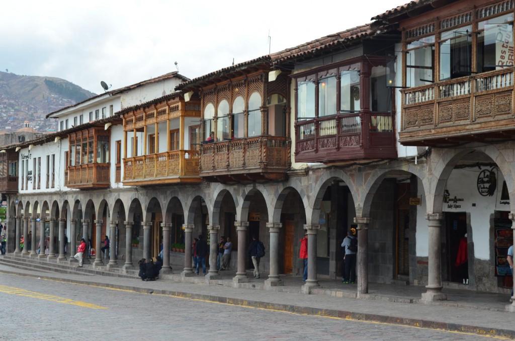 Altstadt von Cusco: Zwischen Inka Ruinen und Kolonialbauten.