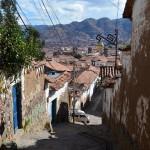 Schmale Gassen im Künstlerviertel San Blas.